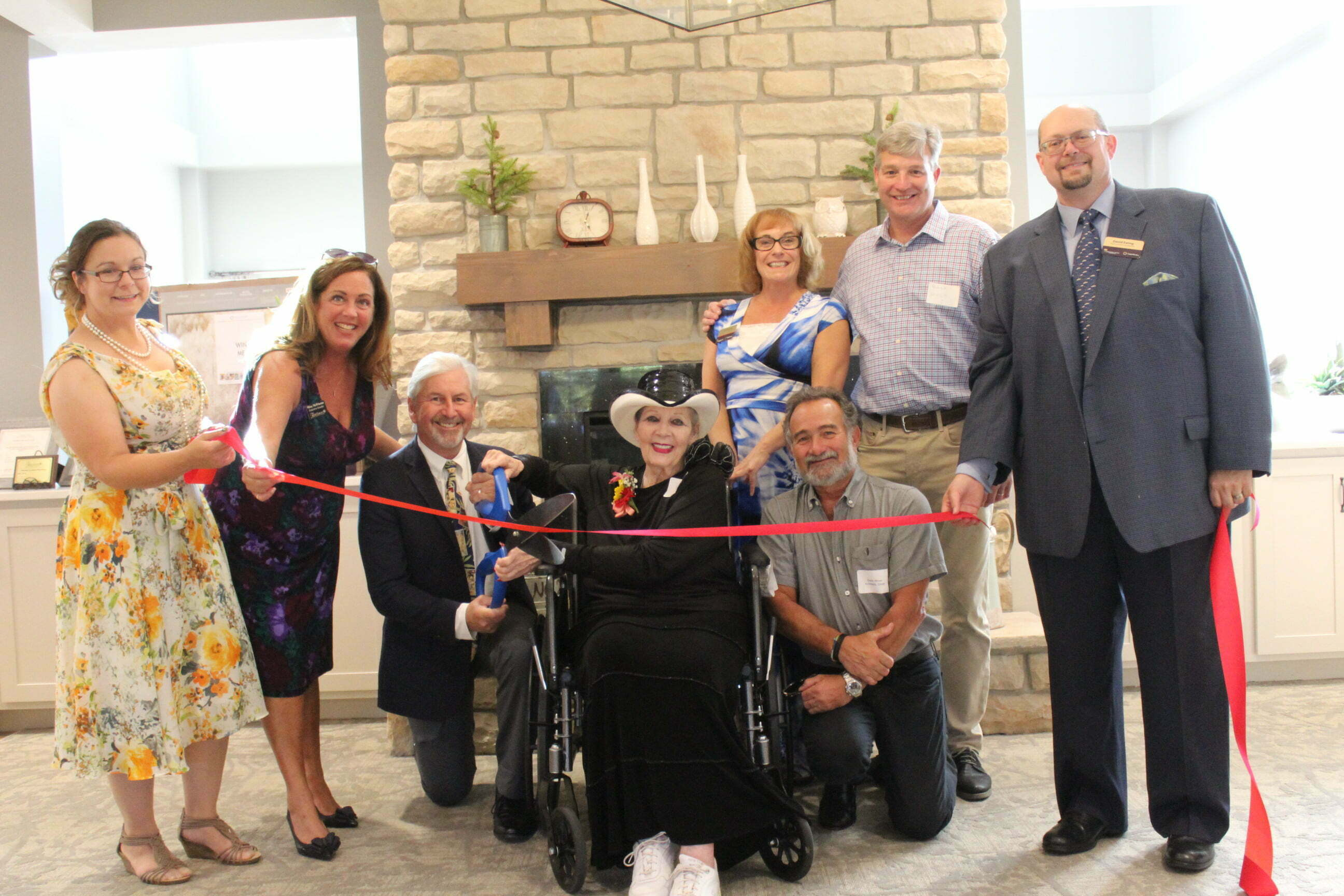 Heritage Crossing ribbon cutting ceremony
